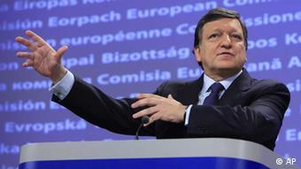 Rais wa Kamisheni ya Umoja wa Ulaya, Jose Manuel Barroso.