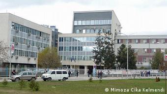 Ansicht der Universität in Pristina, der kosovarischen Hauptstadt