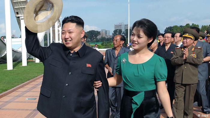 Kim Jong Un ist verheiratet (dapd)