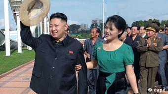 Kim Jong Un ist verheiratet