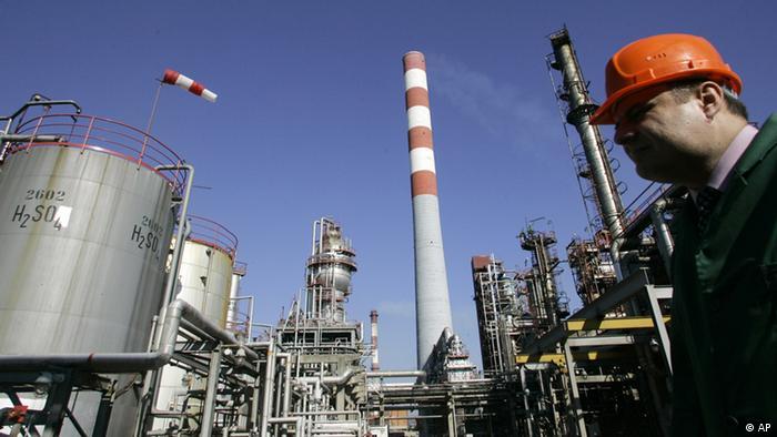 Принадлежащий Газпром-нефти НПЗ в сербском Панчево