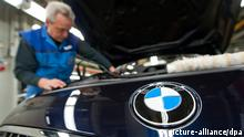 BMW Werk in Dingolfing Automontage