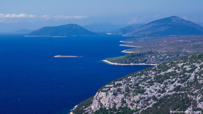 A Croatian coastline