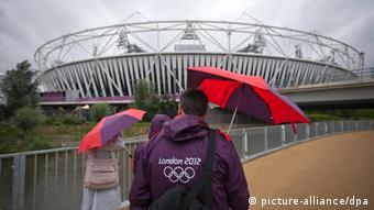 Olympic Stadium in London,
