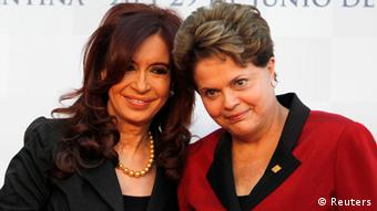 Dilma Rousseff Cristina Kirchner Brasilien Argentinien
