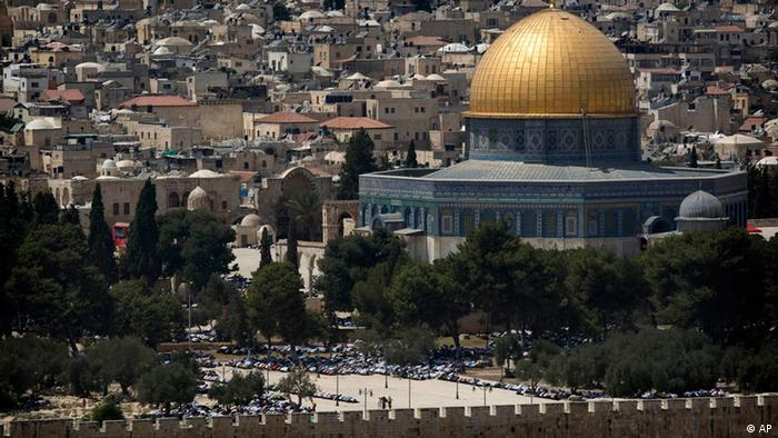 Der Tempelberg in Jerusalem, 2009 (Foto: AP / Getty Images)