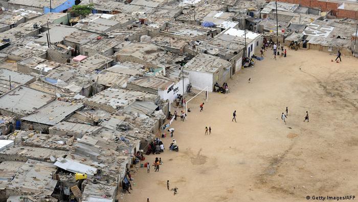 Musseques - die Slums Luandas