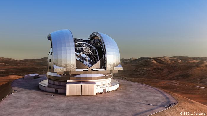 Chile Astronom Teleskop