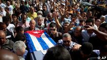 Kuba Havanna Regimegegner Trauerfeier Oswaldo Paya