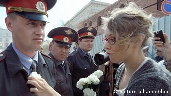 Собчак на акції протесту в Астрахані, 2012 рік