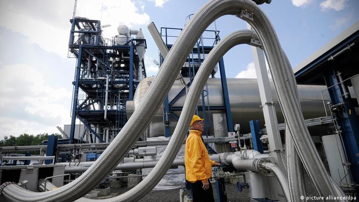 Vattenfall's Schwarze Pumpe CCS Technology, Germany