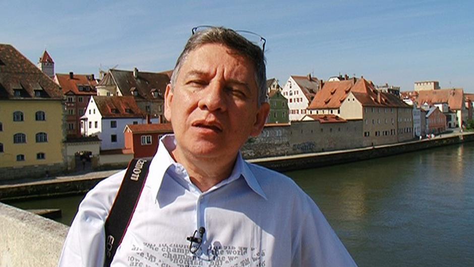 Regensburg mit einem venezuelaner mein dw for Mein butler regensburg