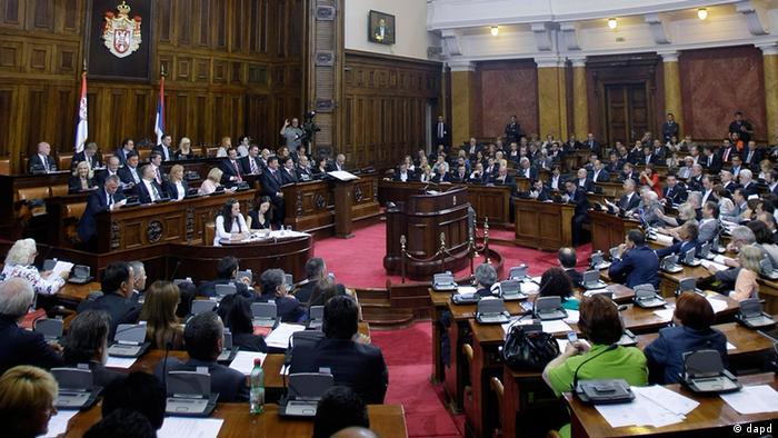 Serbien Parlament von Belgrad