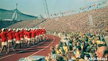 eröffnungsfeier olympische spiele 1972