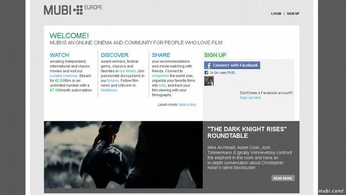 В онлайн-кіно MUBI можна знайти стрічки з останніх кінофестивалів