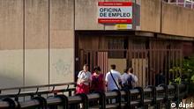 Na Espanha, desemprego em julho foi de 25,1%
