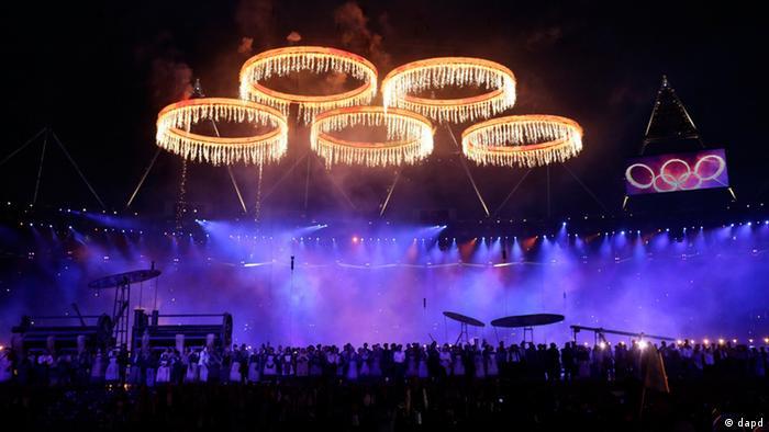 مراسم گشایش المپیک لندن