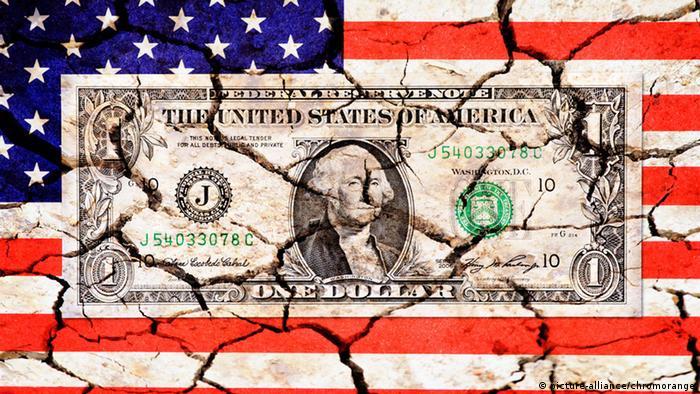 Symbolbild Staatsverschuldung der USA