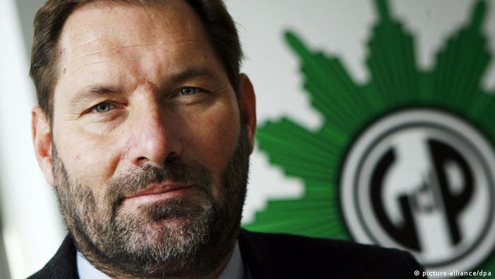 Jörg Radek, stellv. Bundesvorsitzender der GdP, Sektion Bundespolizei (Foto: picture-alliance/dpa)