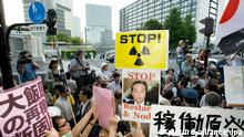Atomkraft Demonstration Japan
