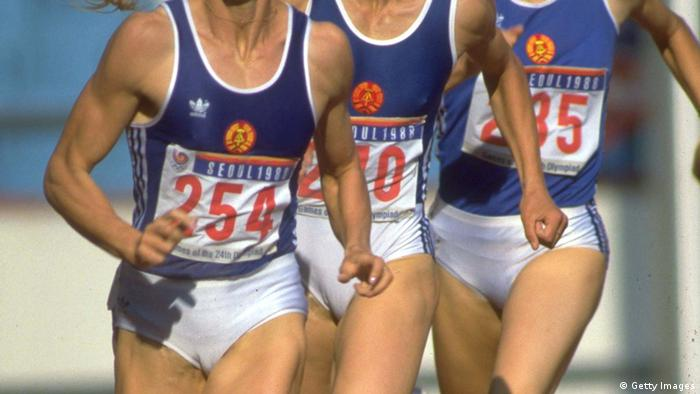 DDR-Sportler bei der Olympiade 1988 (Foto: Getty Images)