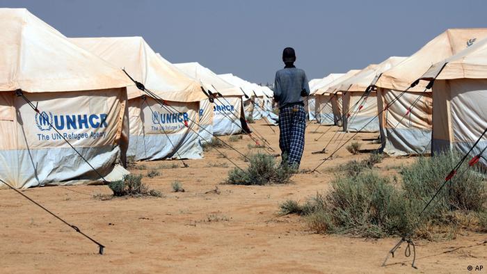 Zataari refugee campe Photo:Mohammad Hannon/AP/dapd).