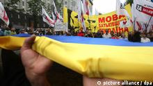 Ukraine Protest Sprache Russisch