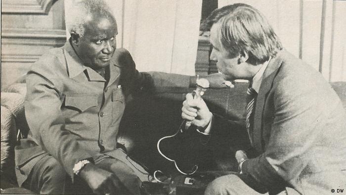 Kenneth Kauda interviewé par la DW en 1984