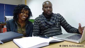 Christine Ampaire and Daniel Odongo the founders of Mafuta-GO