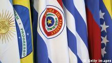 SYMBOL Mercosur Flagge Venezuela Beitritt