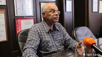 Guste Santini kroatischer Wirtschaftsexperte (Igor Lasic)