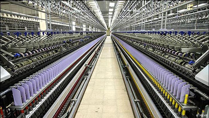 Fabriken Wirtschaft Iran (MEHR)