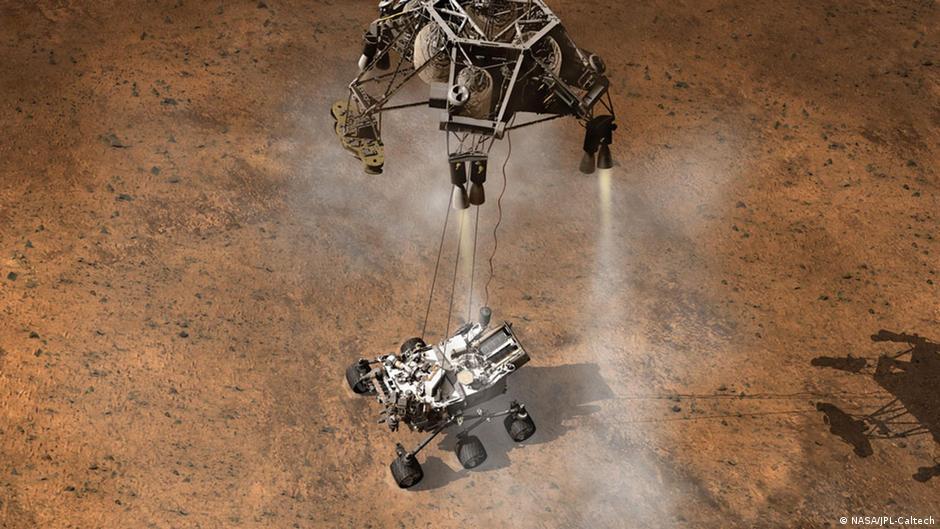 mars rover landing - HD1600×900