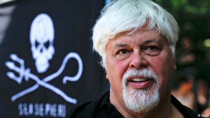 Deutschland Japan Paul Watson Tierschützer von der Organisation Sea Shepherd