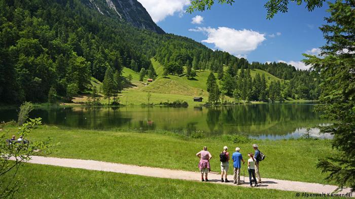 Bildergalerie Urlaub in den deutschen Alpen