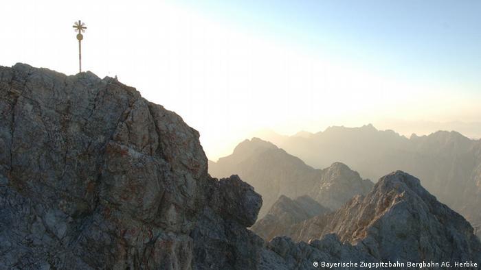 A montanha Zugspitze