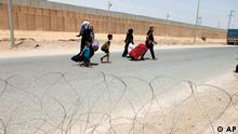 Bildergalerie Syrien Flüchtlinge Irak