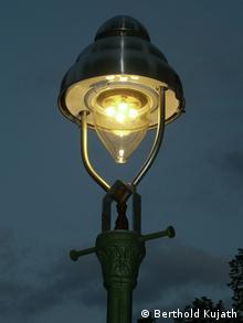 A Berlin gas lamp