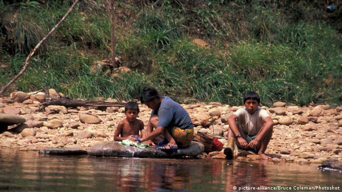 Pemon indigenous people from Venezuela