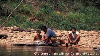 Indígenas del pueblo Pemón en Venezuela.