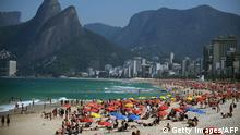 50 Jahre Girl from Ipanema Strand