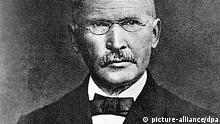 Das zeitgenössische Porträt zeigt Friedrich Wilhelm Raiffeisen (1818-1888), Begründer des deutschen landwirtschaftlichen Genossenschaftswesens.