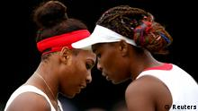 Olympiade London 2012 Williams-Schwestern vs. Angelique Kerber und Sabine Lisicki
