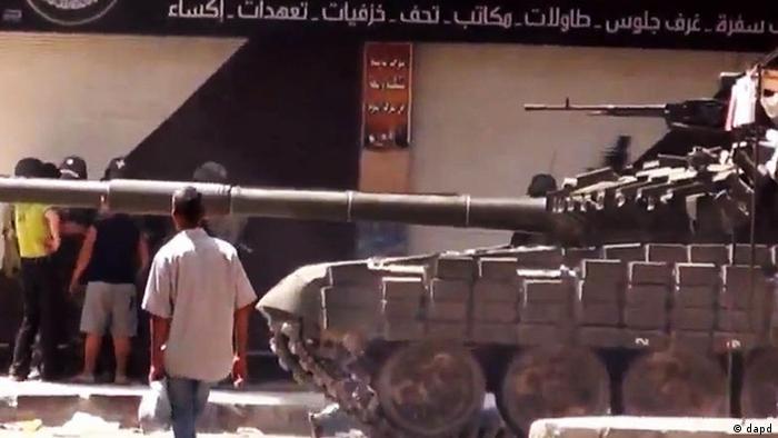 Syrien Bürgerkrieg Straßenszene in Damaskus