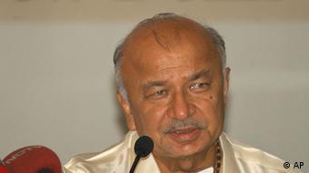 Sushil Kumar Shinde Indien ehemaliger Energieminister Innenminister