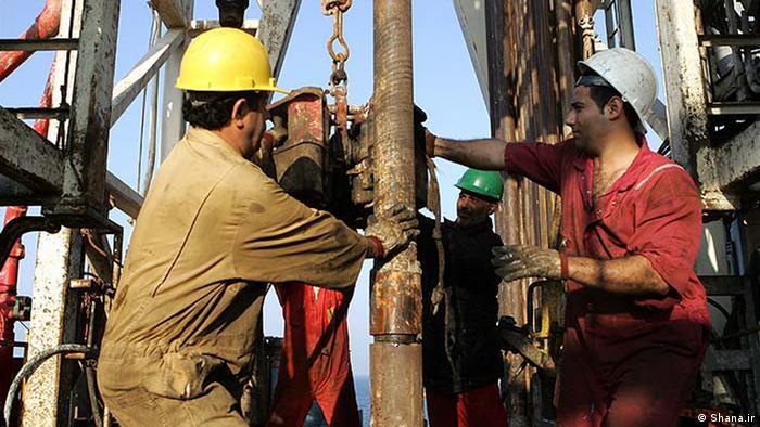 Нефтедобыча в Иране