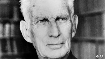 Samuel Beckett em foto antiga