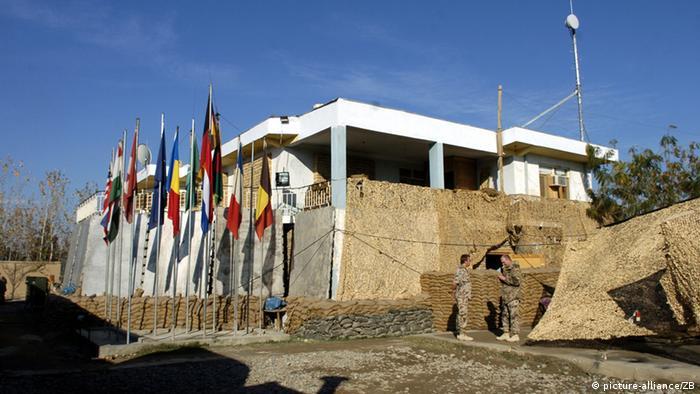 Das Kommandeursgebäude im Bundeswehr-Camp in der Stadt Kundus(Foto: dpa)