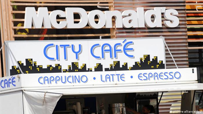 McDonald London Olympia