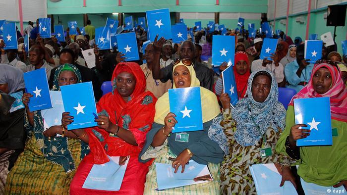Verfassungsgebende Versammlung in Mogadishu (Foto:AP)